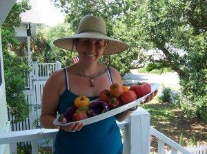Goodies from our Tybee Community Garden