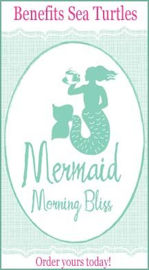 Mermaid Cottage Morning Bliss Coffee ad