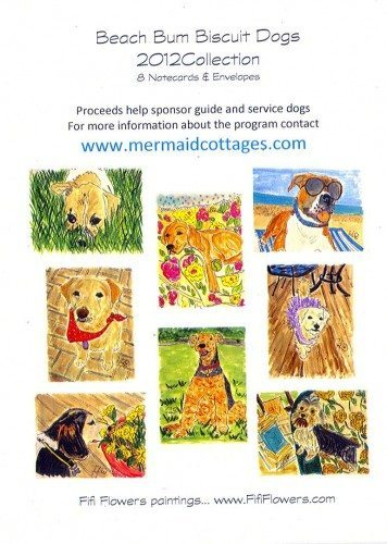 Mermaids Make A Difference Mermaid Cottages Beach Bum Biscuits Dog Treats