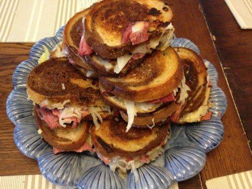 Reuben Sandwiches for St Patrick's