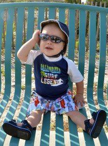 Baby on Tybee Beach