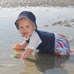 Baby in Tybee Tidal pool
