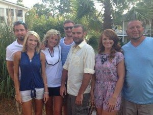 Larry, Cindy, Makenzie, Jimmy, Earl, Jennifer, Kevin