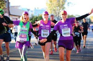 Rock n Roll Marathon Runners in Savannah