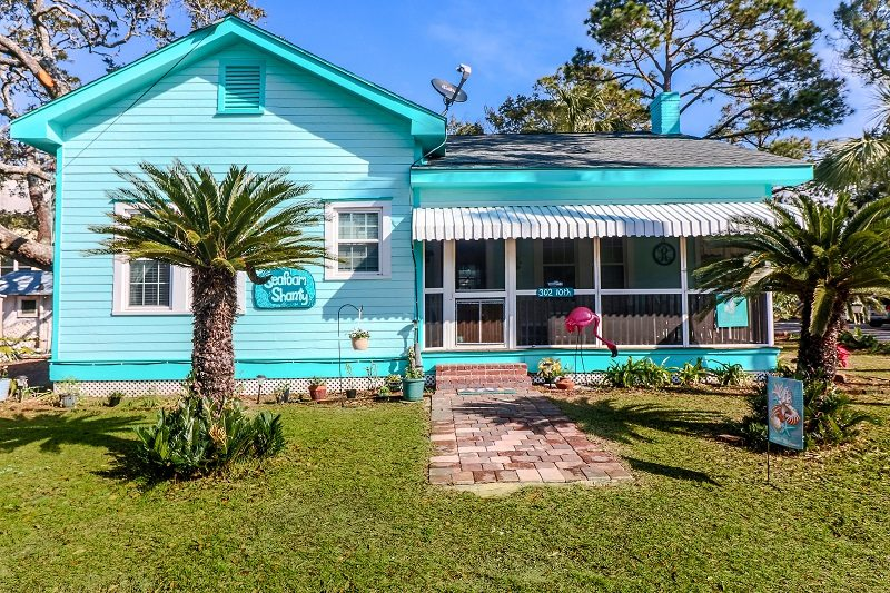 seafoam shanty cottage