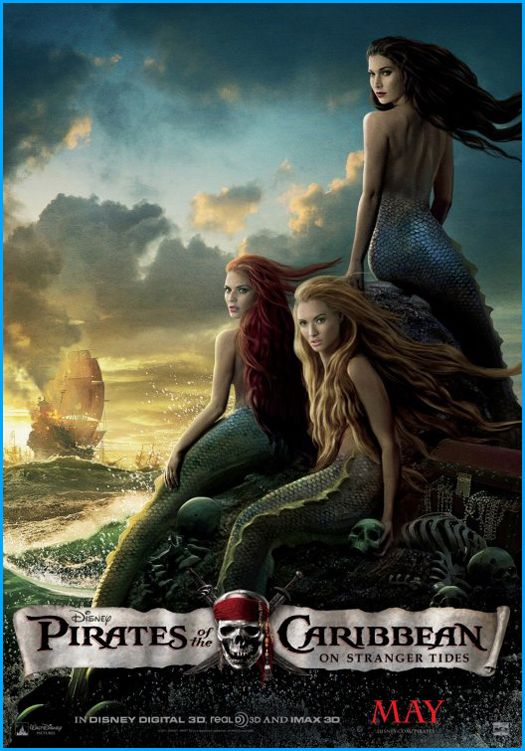 Movie Poster: Pirates of the Caribbean: On Stranger Tides ...