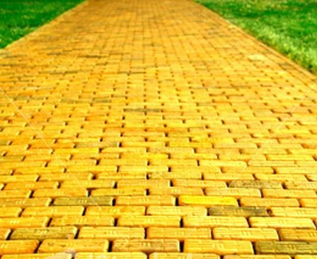 Wizard Of Oz Yellow Brick Road The Wizard of Oz Comes...
