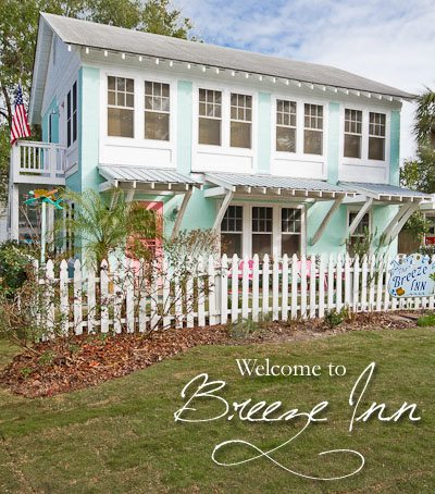 Welcome to Breeze Inn Cottage - photography by Belinda Hall