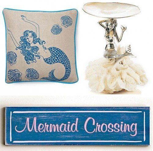 Mermaid Sighting Looking For A Little Mermaid Decor