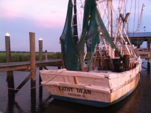 Tybee Island Shrimp Boat
