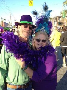 Mermaids at Mardi Gras