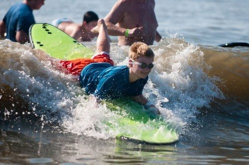 surfers for autism comes to tybee