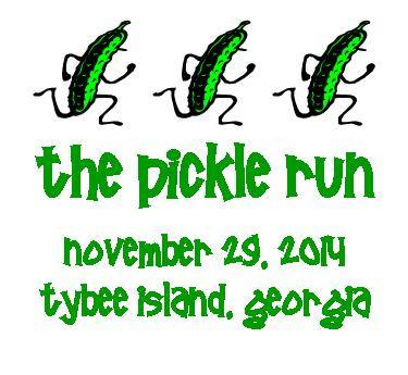 the pickle run in Tybee Island