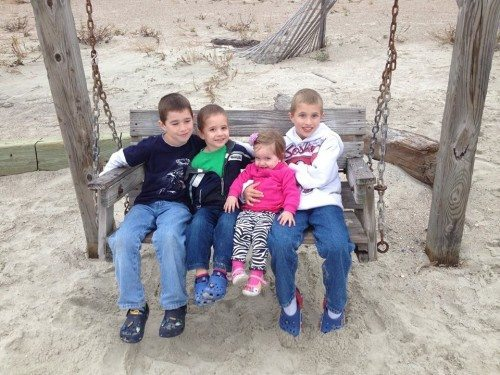 family fun time on Tybee