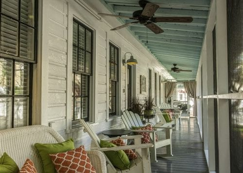 it's springtime at screened inn on tybee island