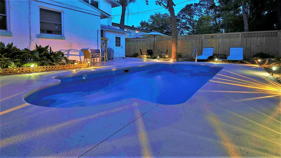 the pool at tybee twins cottage mermaid cottages tybee island ga