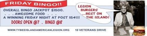 bingo at tybee american legion